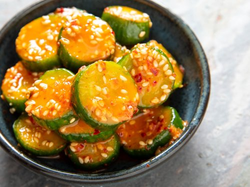 Korean Marinated Cucumbers: A Crunchy, Spicy Side That Steals the Show