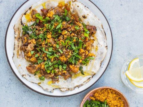 This Bánh Tráng Nướng Is a Crispy, Porky Ode to Vietnamese Street Food