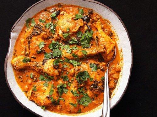 Easy Pressure Cooker Chicken and Chickpea Masala Recipe