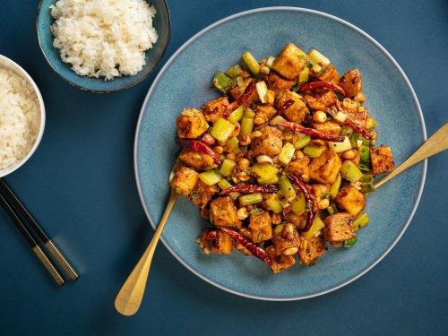 Crispy Kung Pao Tofu Recipe