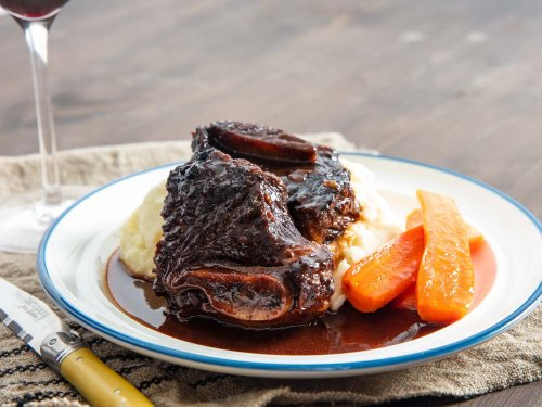 Pressure Cooker Red Wine–Braised Beef Short Ribs Recipe