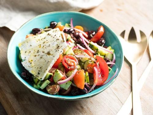The Ultimate Greek Salad Recipe