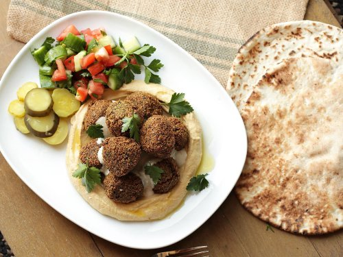 Easy, Herb-Packed Falafel Recipe