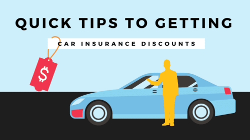 Quick Tips to getting Car Insurance Discounts