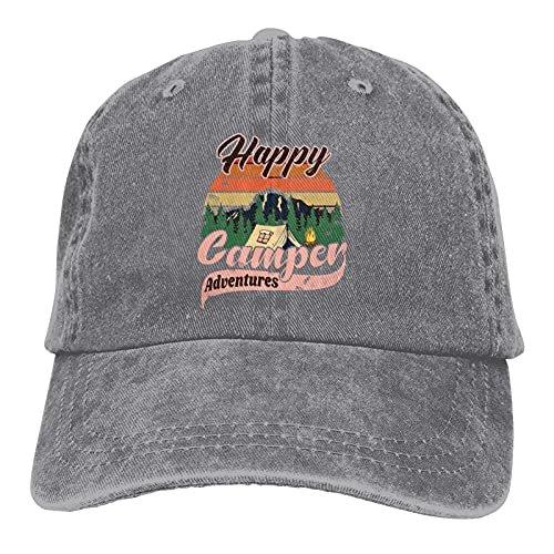 Happy Camper Hat Unisex Baseball
