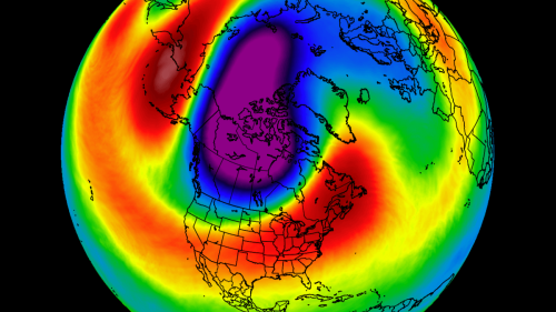 The last Polar Vortex will be forced into North America, as the stratosphere now heads for the Final Warming event, impacting the weather patterns
