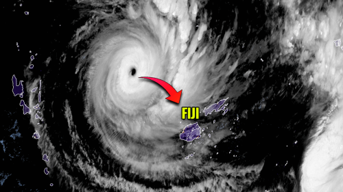 A Category 5 Tropical Cyclone YASA now heads for an extremely dangerous landfall in Fiji on Thursday