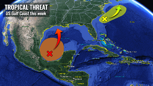 Hurricane season 2021: The first tropical system could impact the US Gulf Coast this week