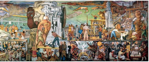 Enormous Diego Rivera Fresco Moved From City College to SFMOMA, Goes On Display Next Week