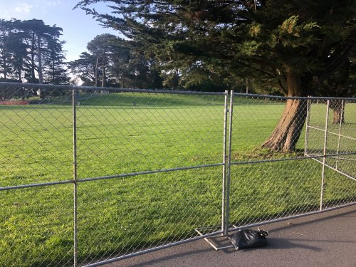 4/20 Cancelled Again, As Rec and Parks Vows Hippie Hill Will Be Fenced Off