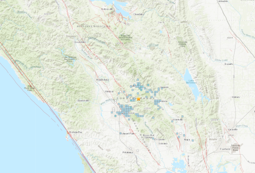 3M Earthquakes Rock East Bay, Wine Country Saturday Morning