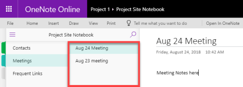 10 ways to use OneNote for Project Management