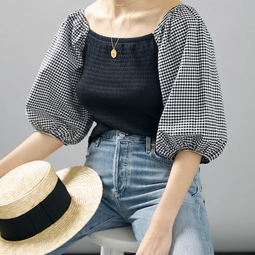 Order This Anthropologie Smocked Top Before It Sells Out!