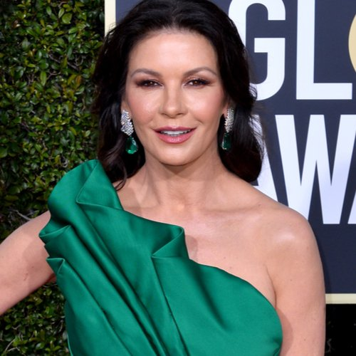 Wait Until You See The Sheer Dress Catherine Zeta-Jones Just Wore—She Looks Naked!