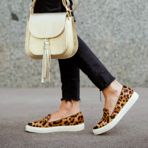These Leopard Print Slip-On Vans Are On Sale At Nordstrom