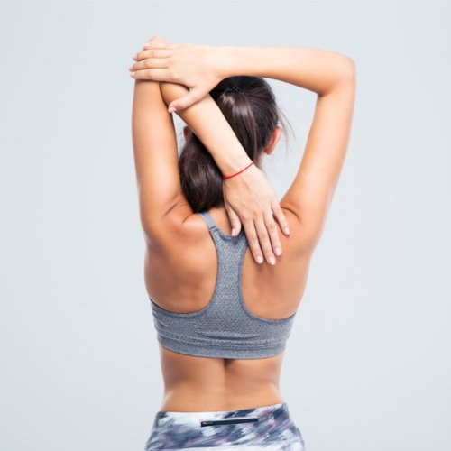 Trainers Say These Are The Best Stretches For Toning Your Back And Strengthening Your Arm Muscles