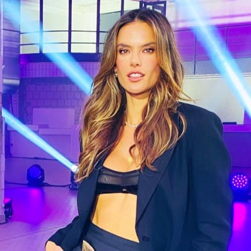 We're Dying To Know How The Censors Approved Alessandra Ambrosio Wearing A Sheer Bra As A Top On Live TV—It's Insane!