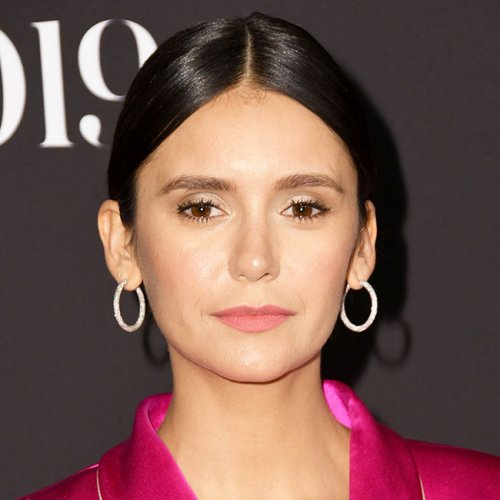 OMG! Nina Dobrev Basically Flashed The Camera In This Super Sexy High-Slit Dress