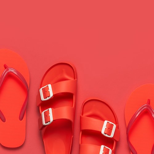 These Waterproof Birkenstocks Are The Colorful Sandal To Wear This Summer