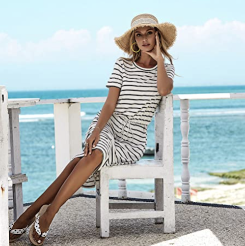 This Striped Dress Is Exactly What You Need For Your Summer Vacations