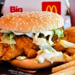 Discover chicken sandwich