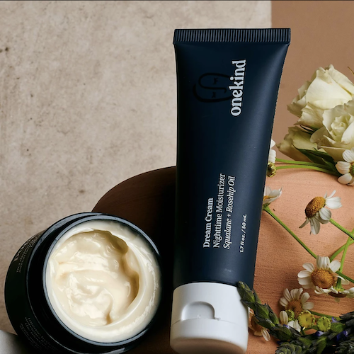 REVIEW: I've Been Using The Onekind Dream Cream Nighttime Moisturizer My Skin Is *So* Soft