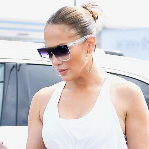 Jennifer Lopez Just Wore A Top So Short You'll Want To Take Scissors To All Of Yours