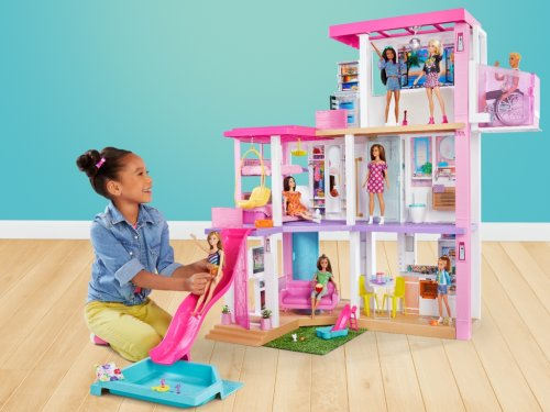 Barbie's New Super-Organized DreamHouse May Make Your Kids Question Your Home Edit Skills