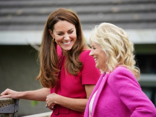 Kate Middleton's Warm Royal Welcome to First Lady Jill Biden Is Just As Political As Meghan Markle's 'Vogue'