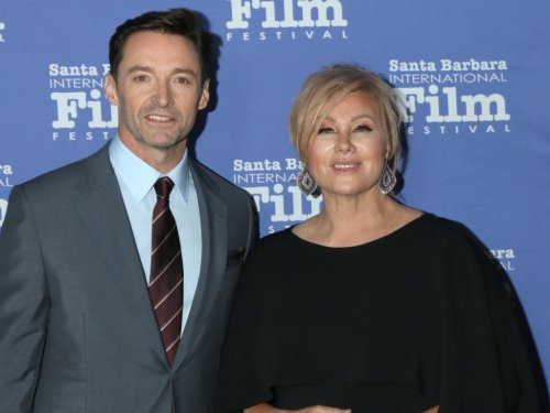 Hugh Jackman Looks Almost Unrecognizable in Wedding Photo From 25 Years Ago