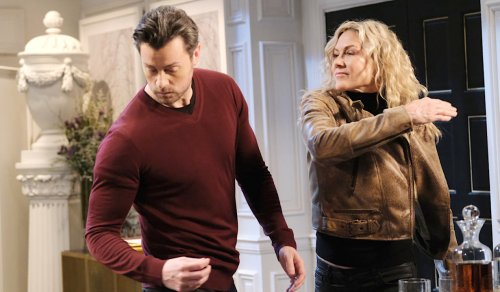 Kristen Returns to Fling an Accusation at EJ — Who Has His Own Suspicions About Betrayal