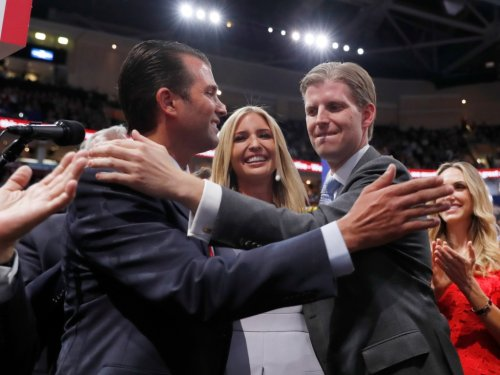 Ivanka Trump & Her Adult Siblings Say Goodbye to Secret Service Protection