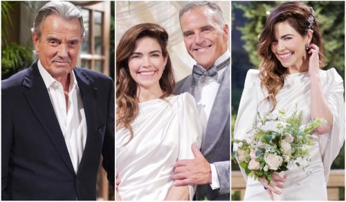 Young & Restless' Amelia Heinle Shows off Her 'Ruby Slippers' in *New* Behind-The-Scenes Wedding Footage — Plus, Richard Burgi Rates Her on a Scale of One to Ten