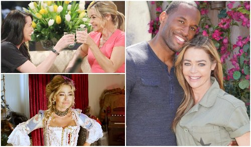 As Bold & Beautiful's Shauna Makes Things 'Very Messy' for Carter and Quinn, Denise Richards Slips Into Something *Less* Comfortable