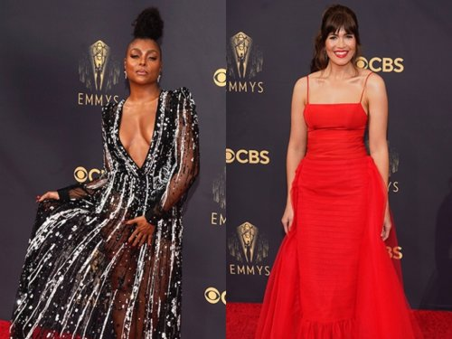 Best Dressed on the 2021 Emmys Red Carpet