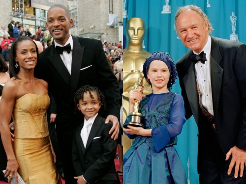 Celebrity Kids at the Oscars Through the Years