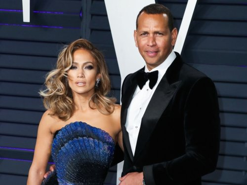 Jennifer Lopez & Alex Rodriguez Got Close Enough to Each Other to Wave Hello in Monaco Today
