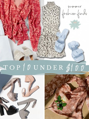 Your Summer 2021 Starter Pack: 10 Fashion Items Under $100 To Buy Now