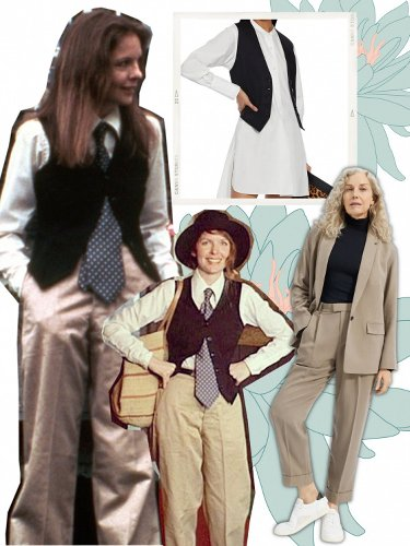 Steal The Influential Menswear Style Of Diane Keaton's Annie Hall
