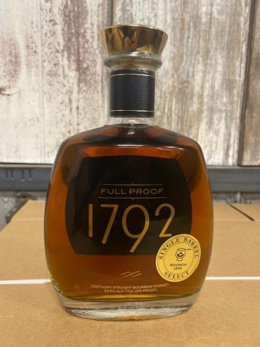 1792 Full Proof Single Barrel Selection by Bourbon Lens