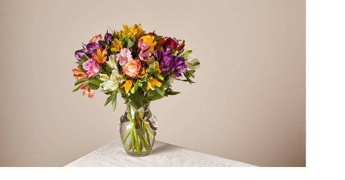 Smiles & Sunshine with Glass Ginger Vase
