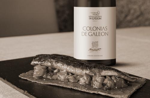 Colonias de Galeón Blanco y tosta de sardina ahumada: sencillamente exquisito