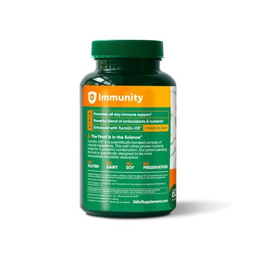 Immune Support Supplements & Ingredients | 24hr Supplement cover image