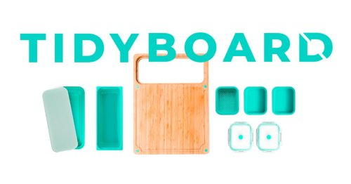 Cutting Board Meal Prep Solution Great For Small Spaces