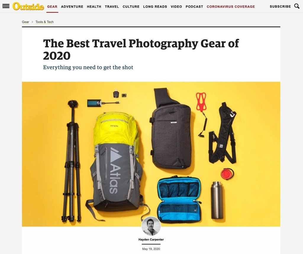 Atlas Packs   Professional Camera Backpacks