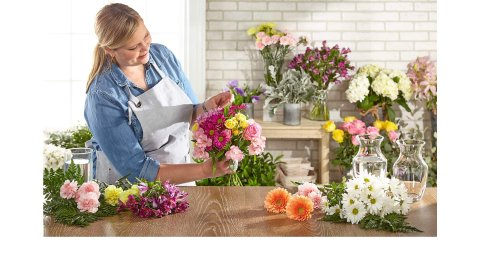 Let the florist pick the freshest blooms available