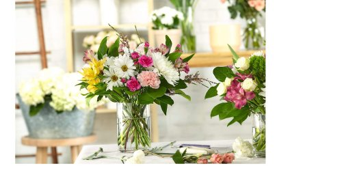Get a one-of-a-kind bouquet with dreamy pastel flowers