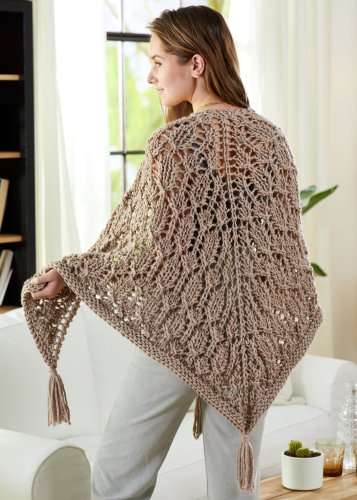 Spider Lace Shawl