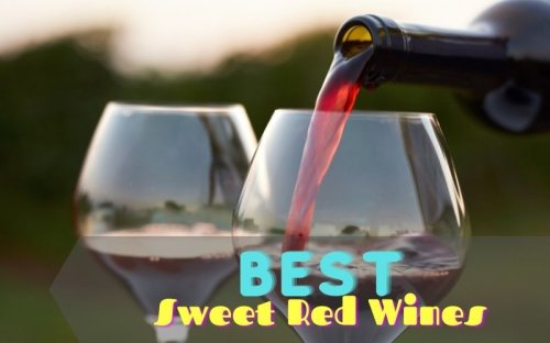14 Best Sweet Red Wines That Will Make You Say Yum [Infographic]