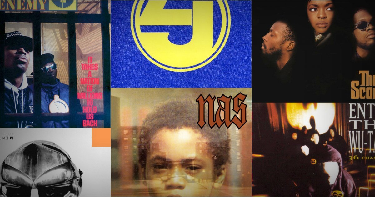 The 35 best hip-hop albums of all time